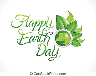 abstract artistic earth day background