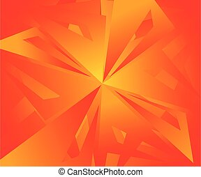 abstract artistic orange background .eps