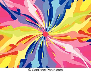 abstract artistic rainbow texture background