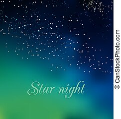 abstract astronomy background. vector illustration of Christmas night card template