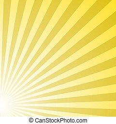 Abstract asymmetrical gradient star burst pattern background