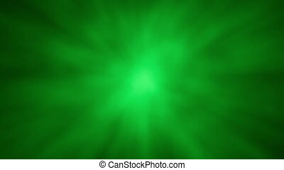 Abstract Aura Glow Sphere BG Green