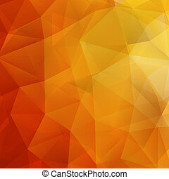 Abstract Autumn geometric shapes. plus EPS10 - Abstract...