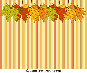 Abstract Autumnal Wallpaper