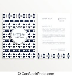Aztec style flyer aztec style colorful vertical flyer american abstract aztec style letterhead template spiritdancerdesigns Gallery