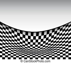 Abstract background 3D