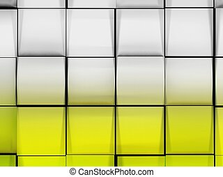 Abstract background, 3d cubes
