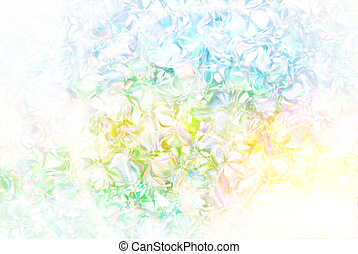 Abstract background 3D illustration