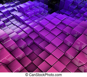 Abstract background - 3D Illustration