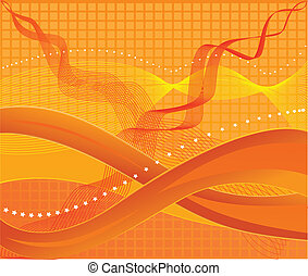 Abstract art design background