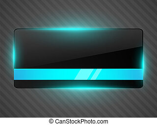 Abstract black background with light. Vector illustration.
