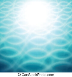 Abstract background - Abstract blue wave background