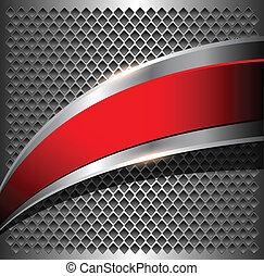 Abstract background - Abstract metallic background with...