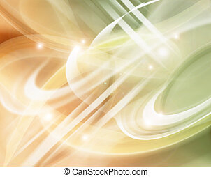 Abstract Modern Background With Sunspot