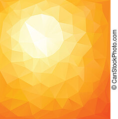 Abstract background - Abstract orange sunny background, ...