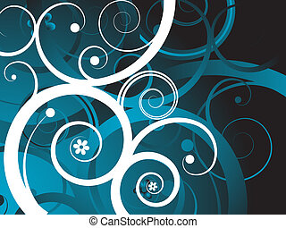 Abstract background - Abstract swirls background