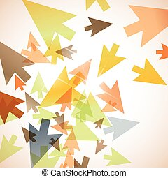abstract background arrow