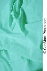 azure silk fabric