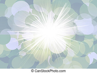 Abstract background, Beautiful  of light