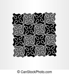 abstract background black pattern vector geometric design