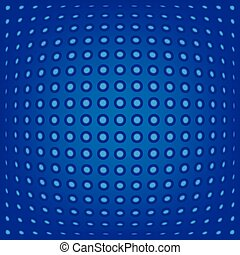 abstract background blue dots
