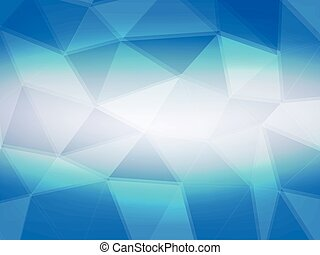 abstract background blue polygon