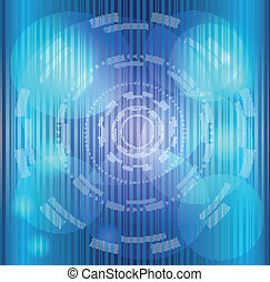 Abstract background blue stripes