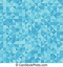 Abstract background blue triangles
