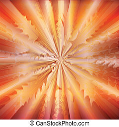 Abstract background burst vector concept