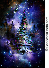 ABSTRACT BACKGROUND- Christmas - Christmas background ready...