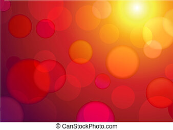 abstract background - Vector illustration of red abstract...