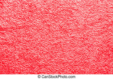 Abstract background close up red fabric