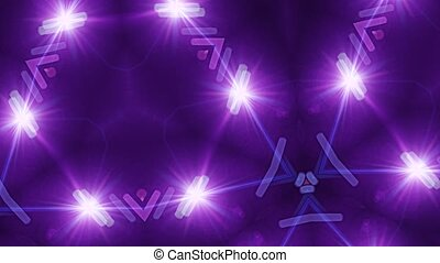 Abstract background, club light, kaleidoscope