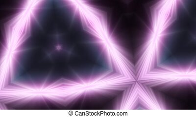 Abstract background, club light, kaleidoscope - Abstract...