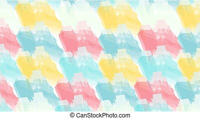 abstract background color brush stroke yellow blue pink.