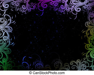 abstract background color