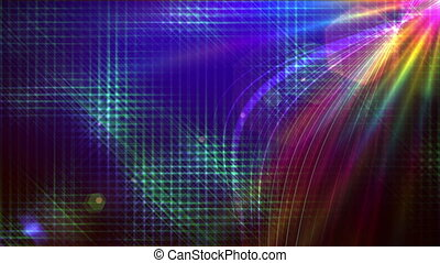abstract background color ray