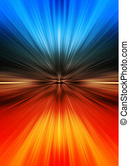 Colorful abstract background - speed