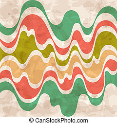 Abstract background. Colorful waves.