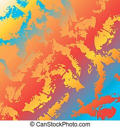 Abstract background colors Rainbow