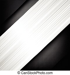 Abstract background dark and black carbon fiber with polished metal texture vector illustration 004