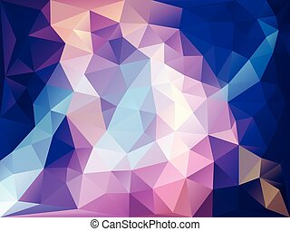 abstract background deep ocean polygon