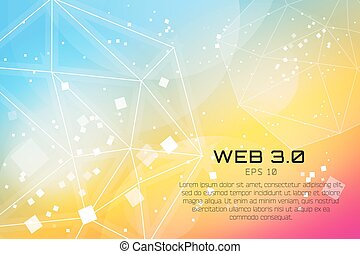 Abstract background design. Shine glow background. Wallpaper...