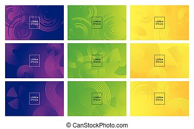 Abstract background design with vibrant color illustration
