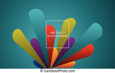 Abstract background design with vibrant color. Suitable for ...