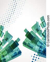 Abstract background. Dotted Vector theme.