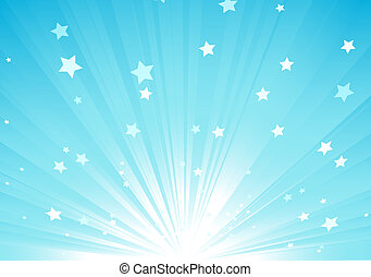 Abstract background - illustration of blue Abstract...