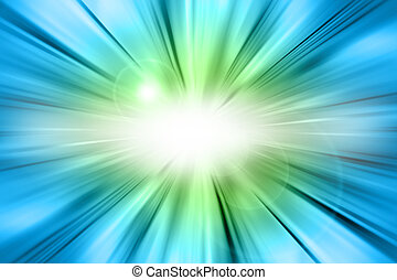 Abstract background - Abstract green and blue background