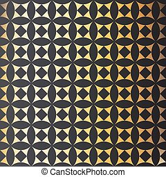 Abstract background, elegant gold, vector. Geometric pattern.