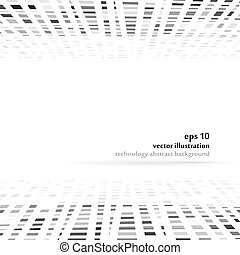 Abstract background - Technology irregular vector abstract...